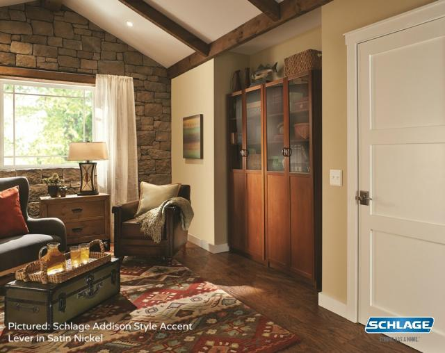 How To Start A Room Makeover Like Pro Craftsman Living Schlage Addison
