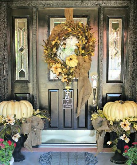 Thanksgiving - Front Door - Schlage