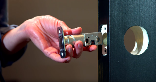Beau How To Install A Deadbolt Lock | Schlage