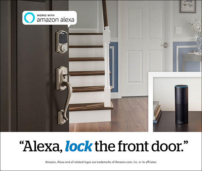 & 7 things you need to know about Schlage Connect™ and Amazon Alexa