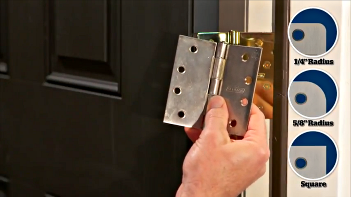 Door Hinge Corners | Schlage