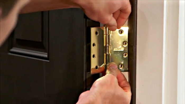 How to install door hinges | Schlage & How to install door hinges