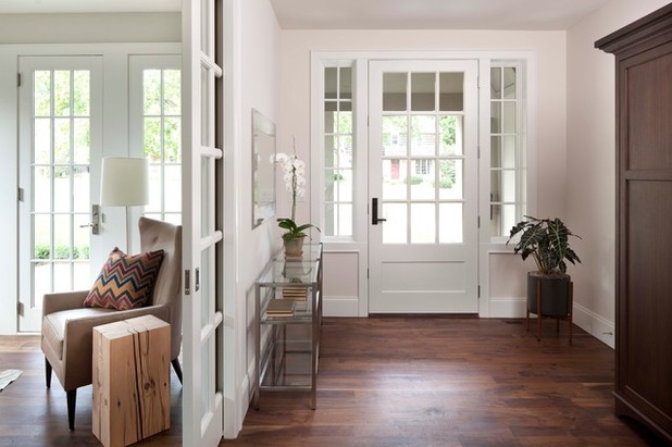 Pocket door entry