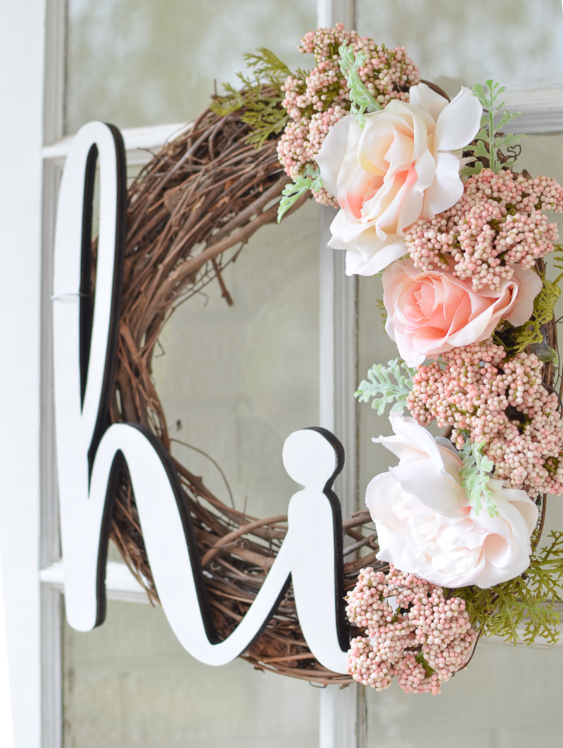 Front Door Decor - DIY Summer Wreath