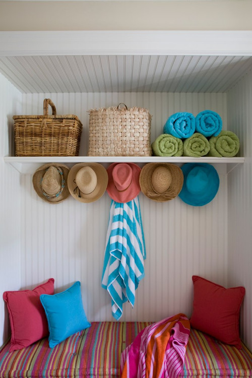 Summer Entryway - Beach gear storage