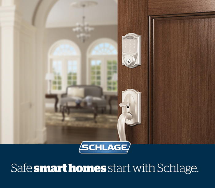Safe smart home - Home Security - Smart Lock - Schlage Sense