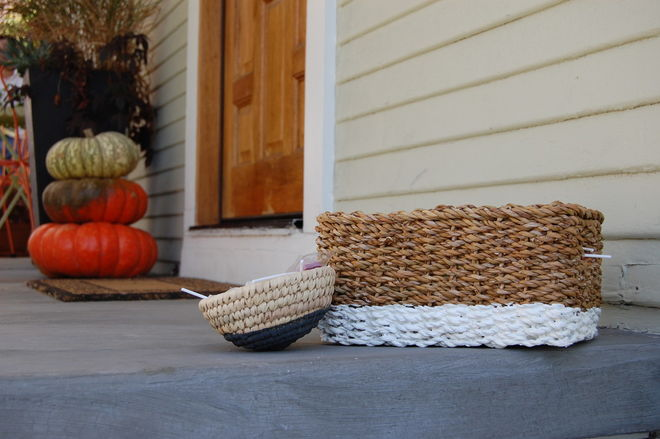 Fall decor - Halloween basket - Schlage