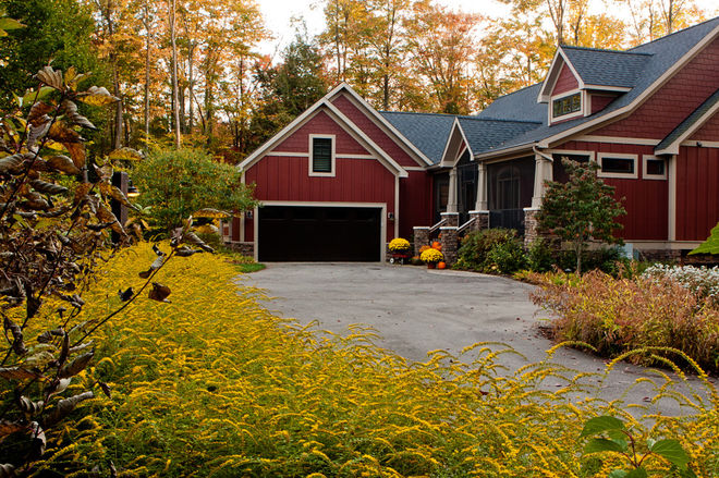 Fall mums - Curb Appeal - Schlage