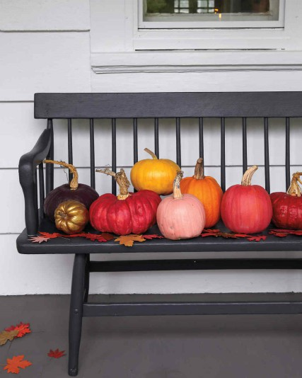 Fall color palettes - Porch decor - Schlage