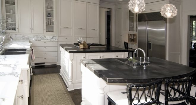 Mixed materials - Kitchen - Countertops