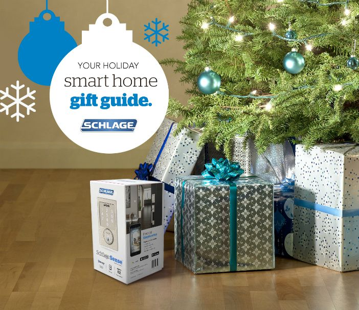 Holiday Gift Guide - Smart Home - Schlage