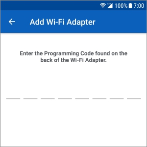 Schlage Sense Wi-Fi Adapter - Set up - Android