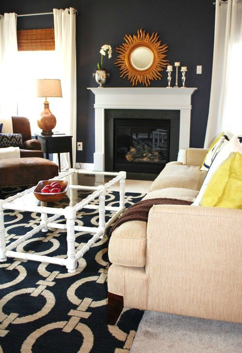 Decorating - Transitional living room