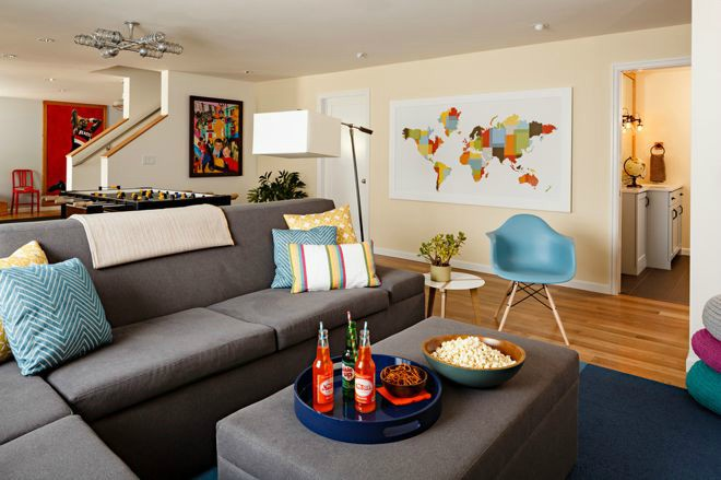 Decorating - Contemporary living room - Family room