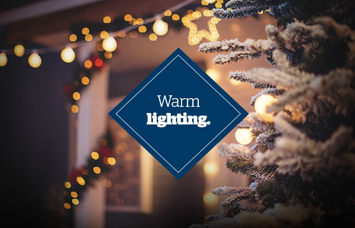 Holiday curb appeal - Outdoor lighting - Schlage
