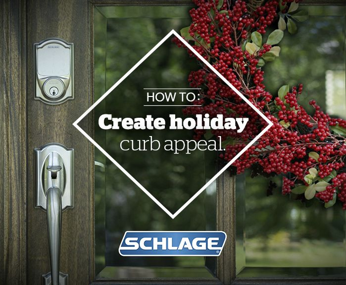 Holiday - Curb Appeal - Schlage