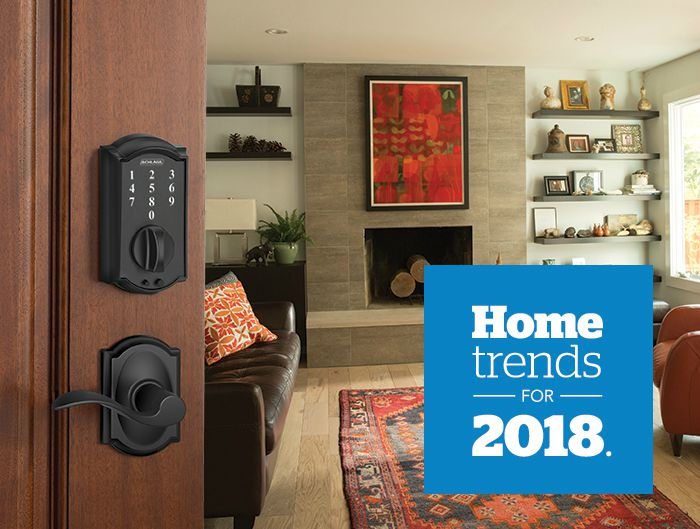2018 Trends - Style & Design - Technology - Schlage