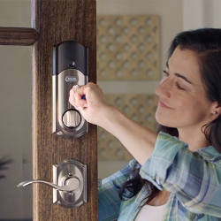 Homeowner's guide to door hardware terms and parts of a door lock.