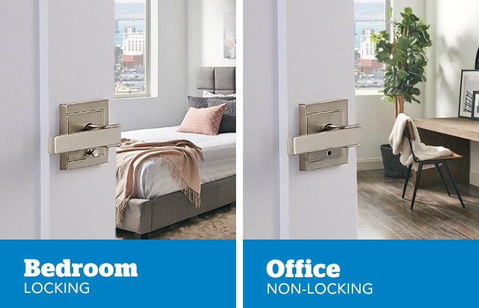 Bedroom and office door locks - Schlage
