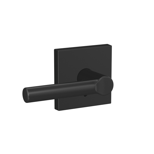 Door hardware - Broadway lever - Matte Black finish - Schlage