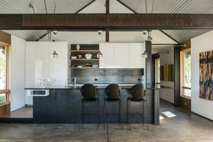 Industrial modern kitchen - Matte Black - Schlage