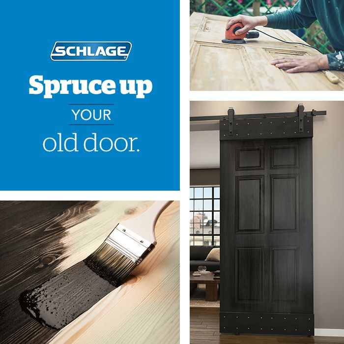 Old doors - DIY - Schlage