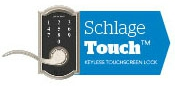 1 Bore Hole - Schlage Touch Keyless Touchscreen Lever