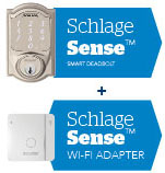 Connected smart lock - Schlage Sense Smart Deadbolt