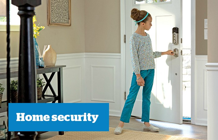Home security - Schlage Sense Smart Deadbolt