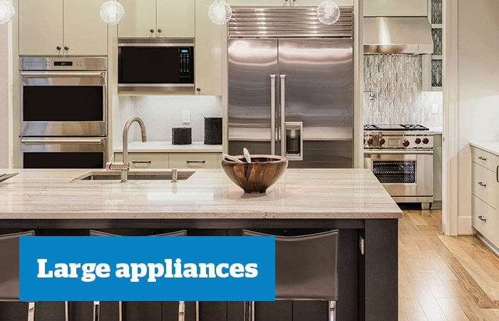 Home products - Large appliances