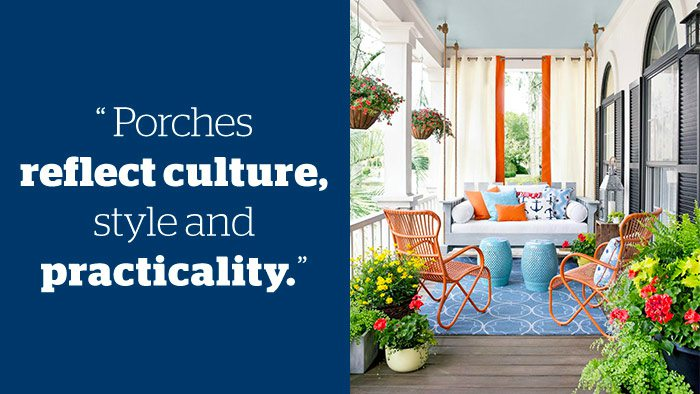 Ted Talks - Front Porches - Outdoor Living - Schlage