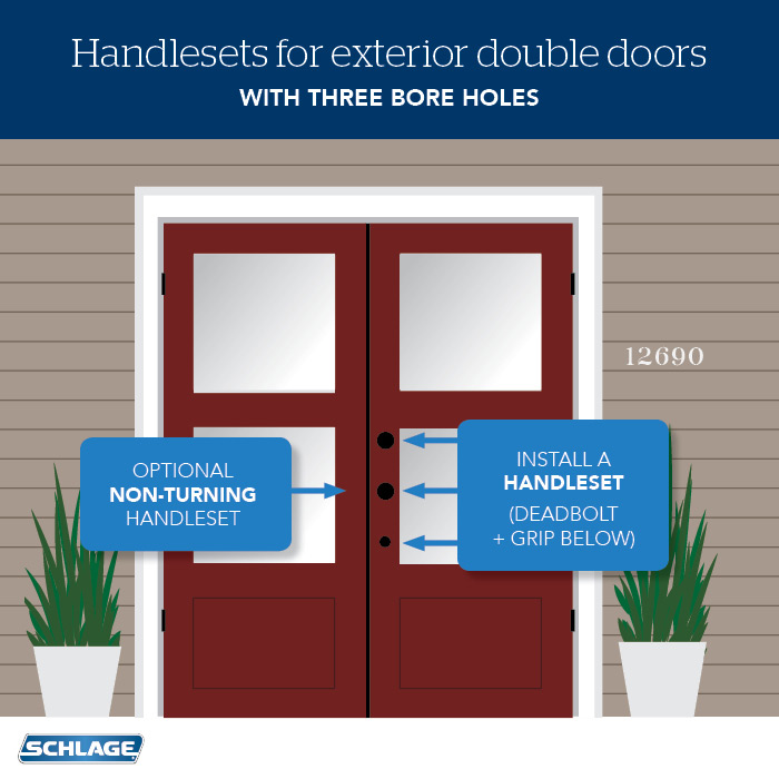 How To Choose Door Locks For French Doors