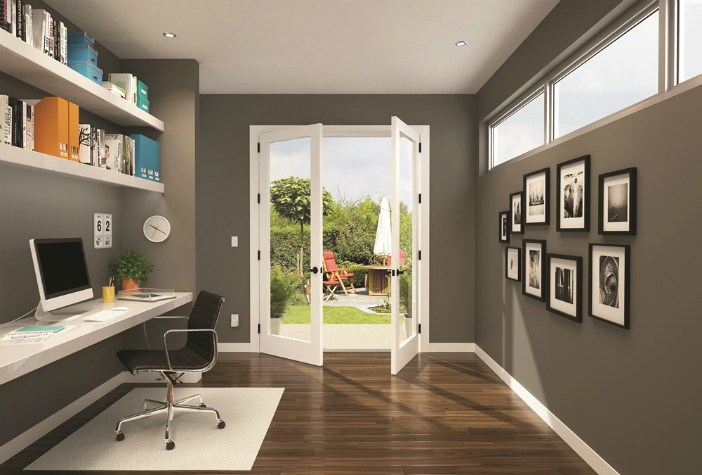 French Patio Doors - Accent lever - Schlage