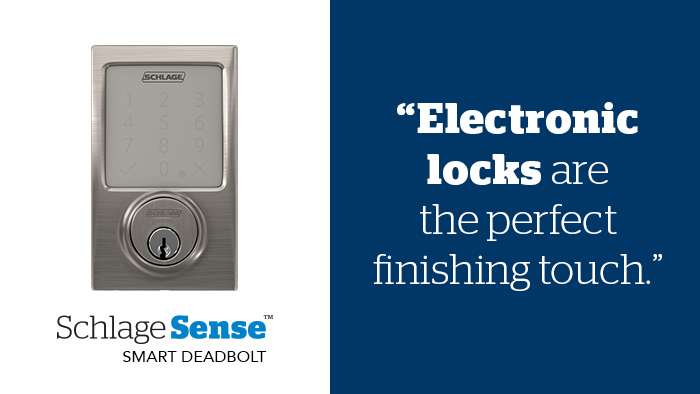 Home Staging - Smart locks - Schlage