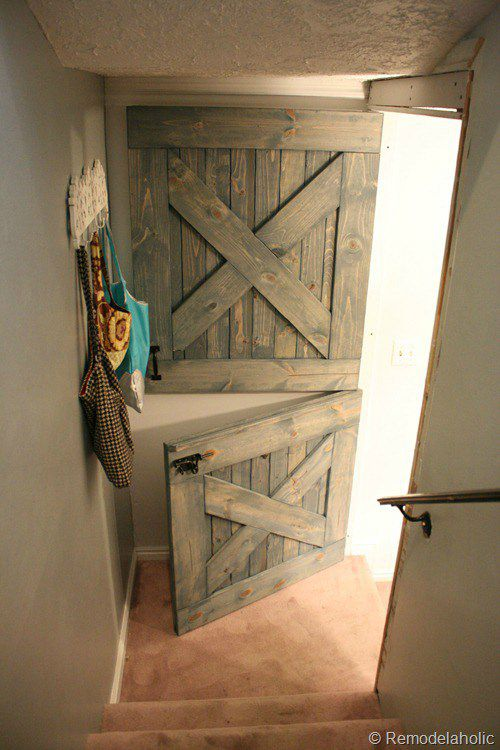 Diy Dutch Barn Door Remodelaholic