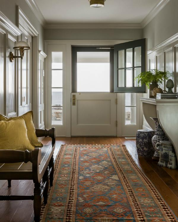 Dutch doors - DIY paint - Houzz;