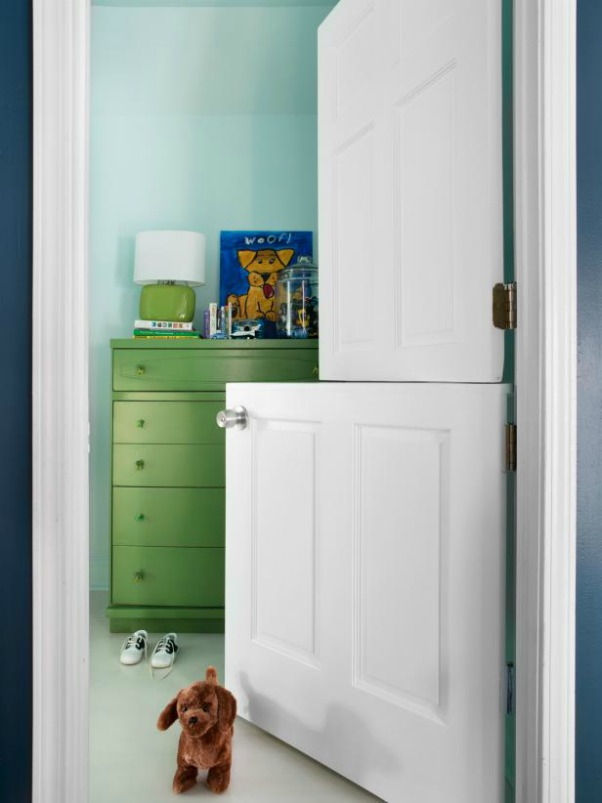 DIY Dutch Door - HGTV;