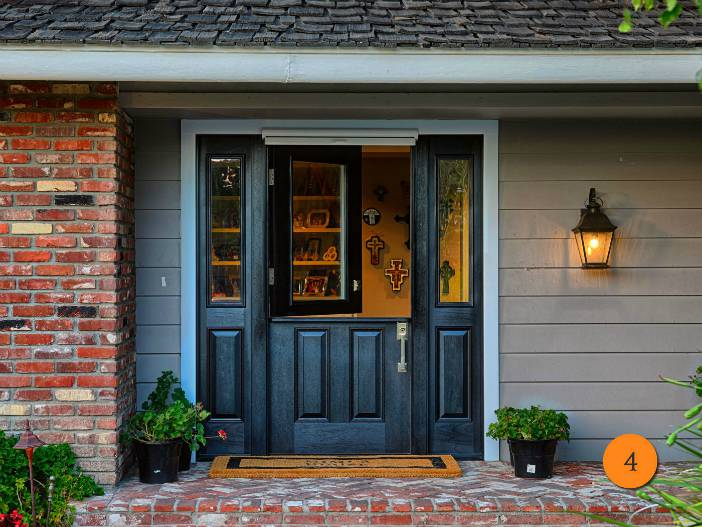 Dutch door with screen - Today's Entry Doors;