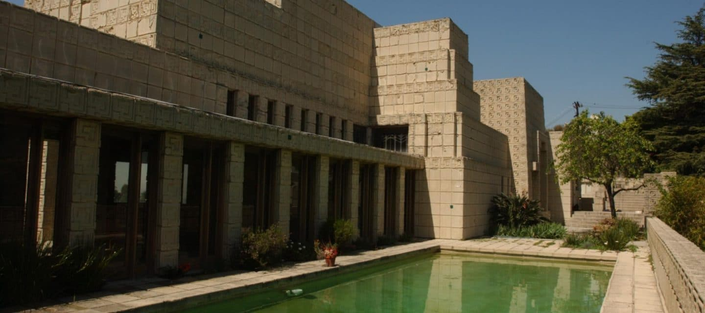 Ted Talks - Frank Lloyd Wright - Ennis House - Schlage