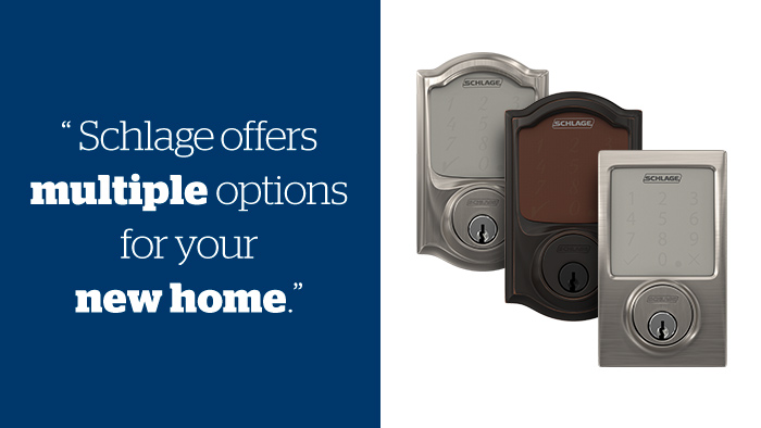 Moving - Smart locks - Schlage