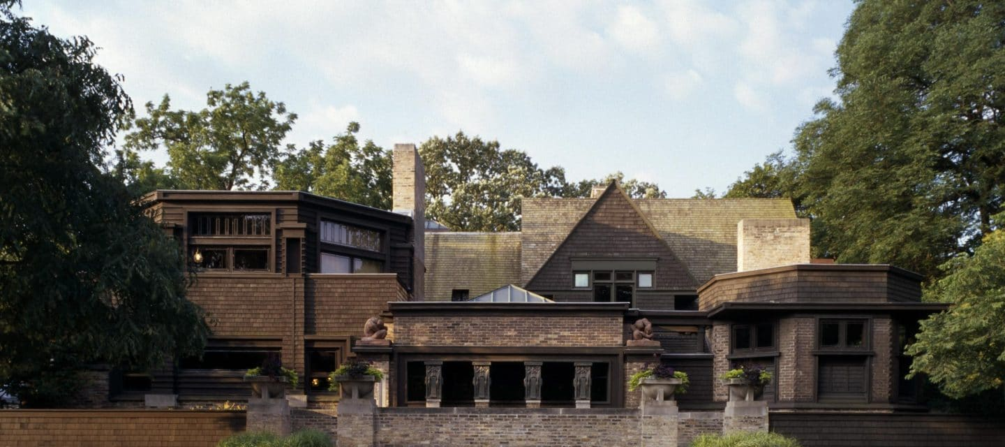 Ted Talks - Frank Lloyd Wright - Oak Park - Schlage