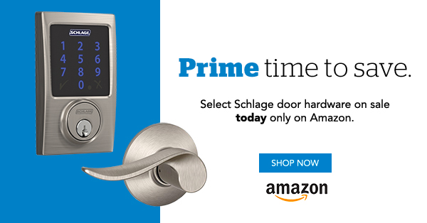 Prime Day - Schlage Locks