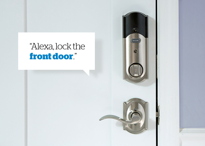Amazon Alexa - Smart locks - Schlage