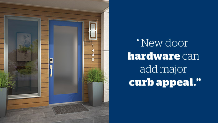 Budget curb appeal - Door hardware - Schlage