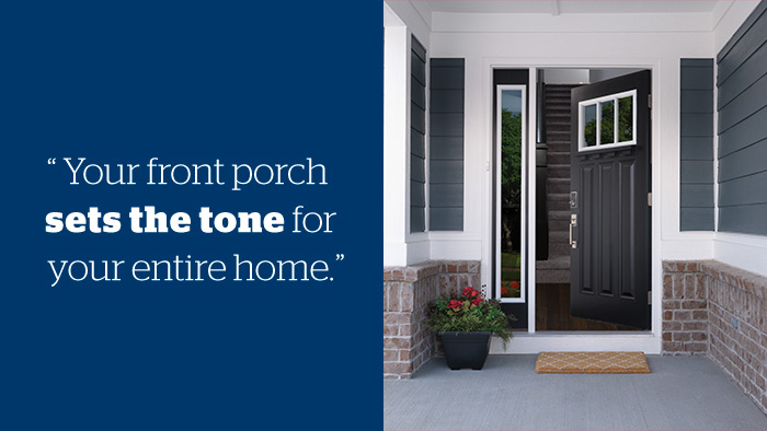 Budget-friendly front porches - Schlage