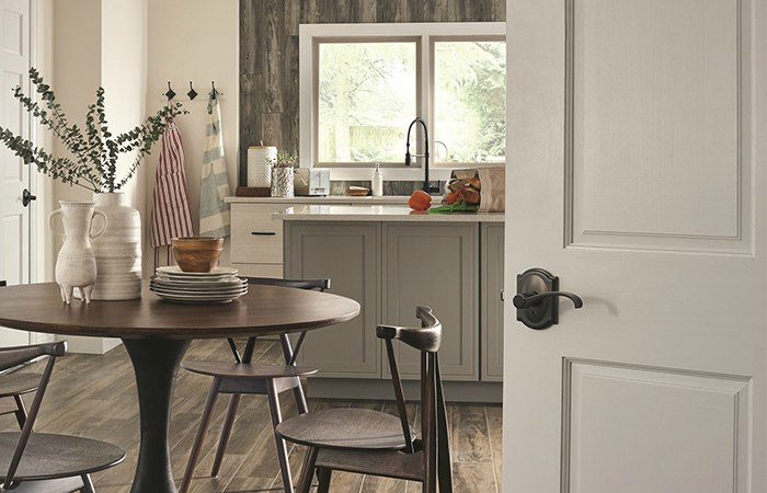 Farmhouse Kitchen - Whitney Lever - Schlage