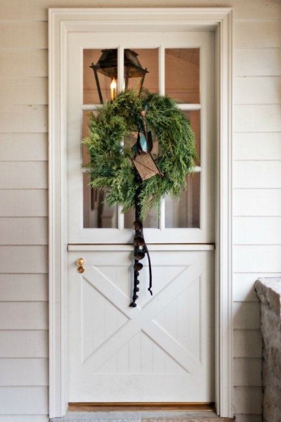 Holiday - Dutch Door - Wreath