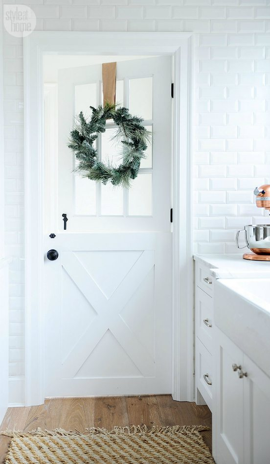 Holiday - Dutch Door - Schlage