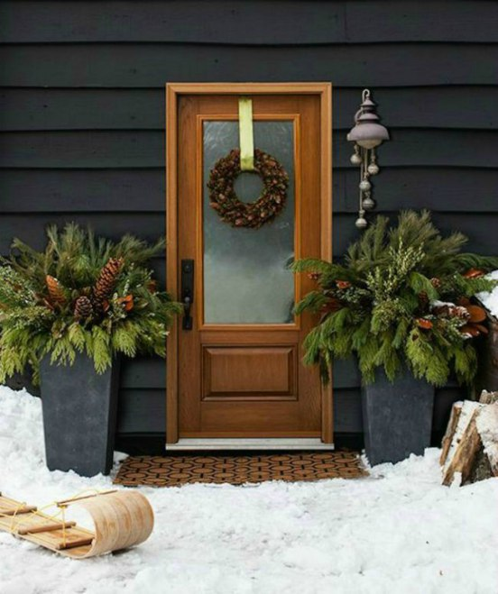 Holiday - Front Door - Natural Decor