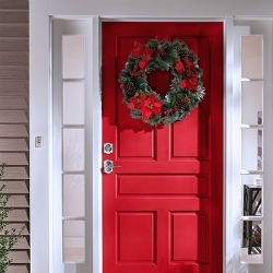 Home security steps you should take during the holidays.